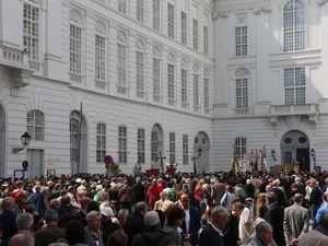 La procession à la Josefplatz