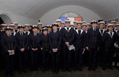 26 janvier 2016 - l'École des Mousses visite le Mémorial national des marins morts pour la France (Les photographies)