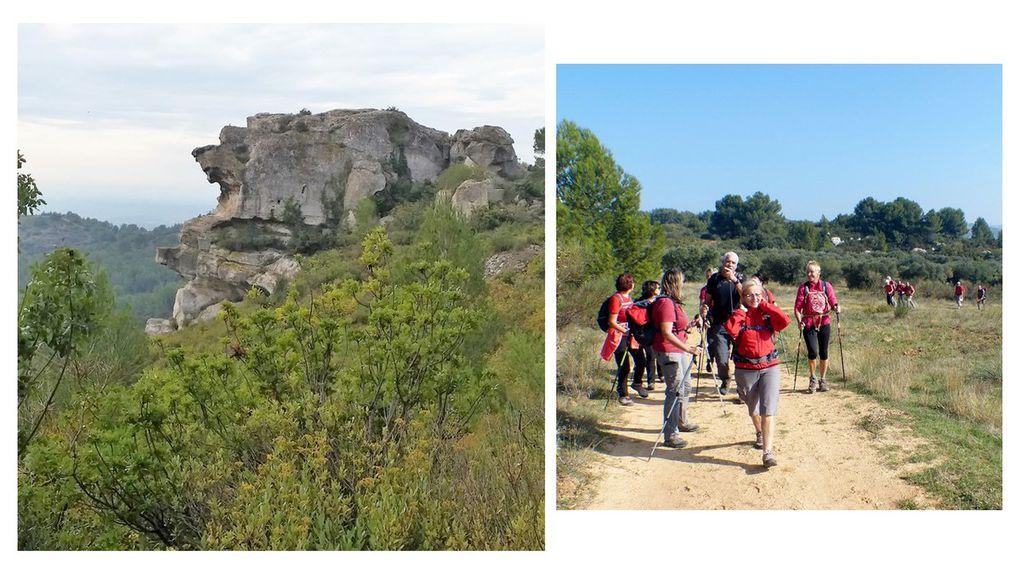 Dimanche 21 octobre : les Baux de Provence