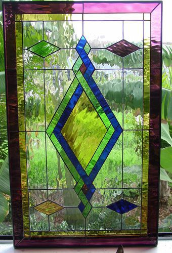 Stained Glass Diamon