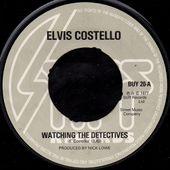 Elvis Costello - watching the detectives - Stiff - 1977 - l'oreille cassée