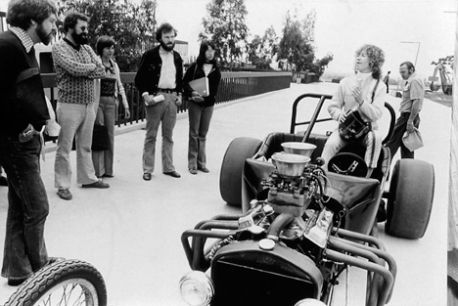 Cinderella in a Dragster @ Suzanne Lacy. 1976.California State University