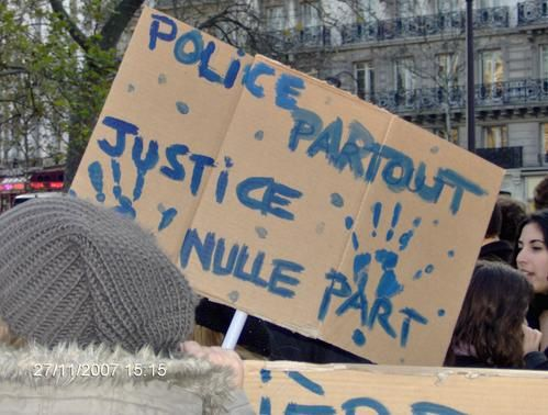 Police partout, de Villetaneuse à Paris, France