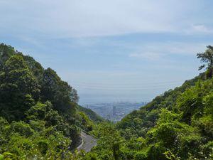 Route du mont Rokko