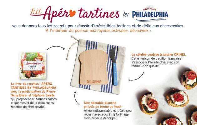 Kit Apéro Tartines by Philadelphia {GiveAway Inside}
