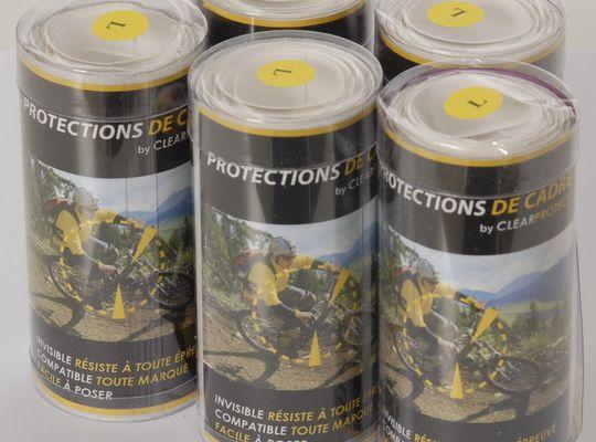 Protection de Cadre Vtt & Route par Clear Protect