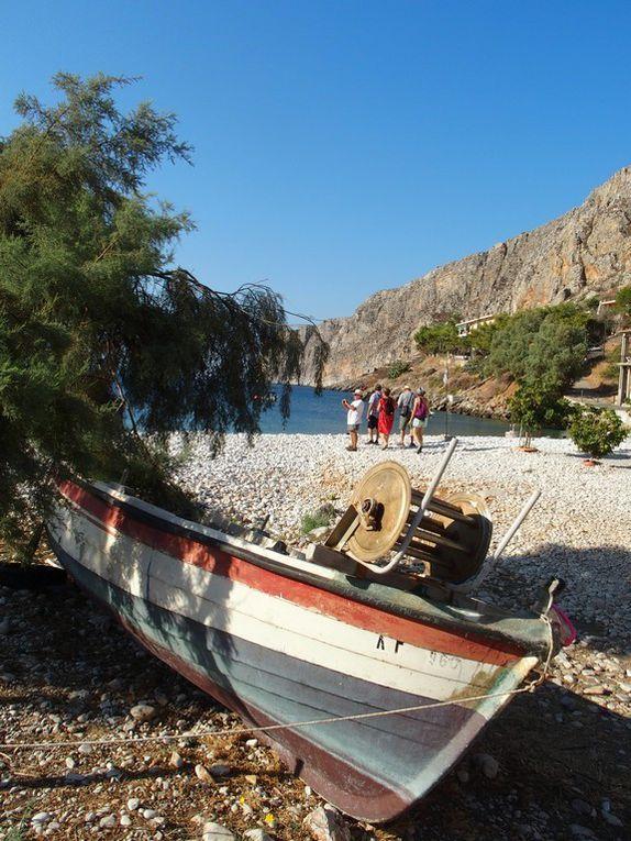 Géroliménas et sa petite plage de galets