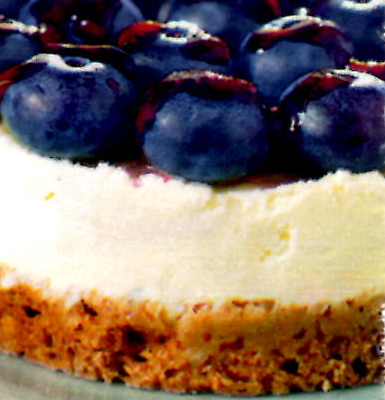 Cheese cake aux myrtilles