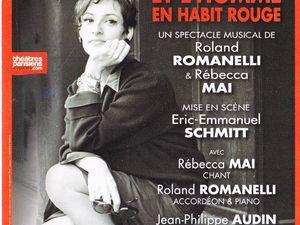 Barbara et l'homme en habit rouge, Théâtre Rive Gauche