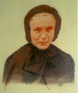 Marie Boisson, ouvrière en soie est une collaboratrice efficace d'Antoine Chevrier dans la fondation du Prado