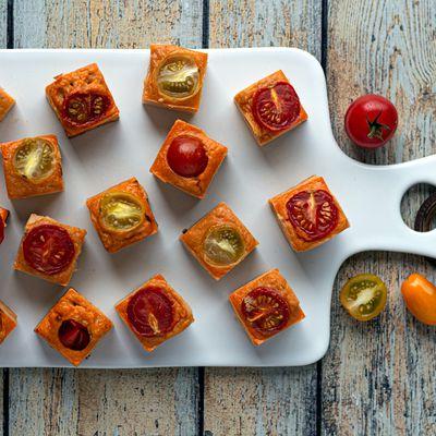 Bouchées apéritives au thon et tomate