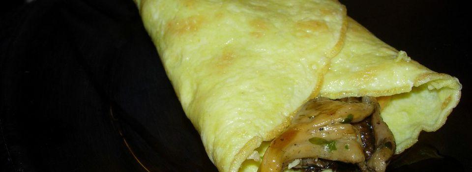 Omelette aux shiitakés. Ou aux girolles. Selon ce que tu as sous la main.