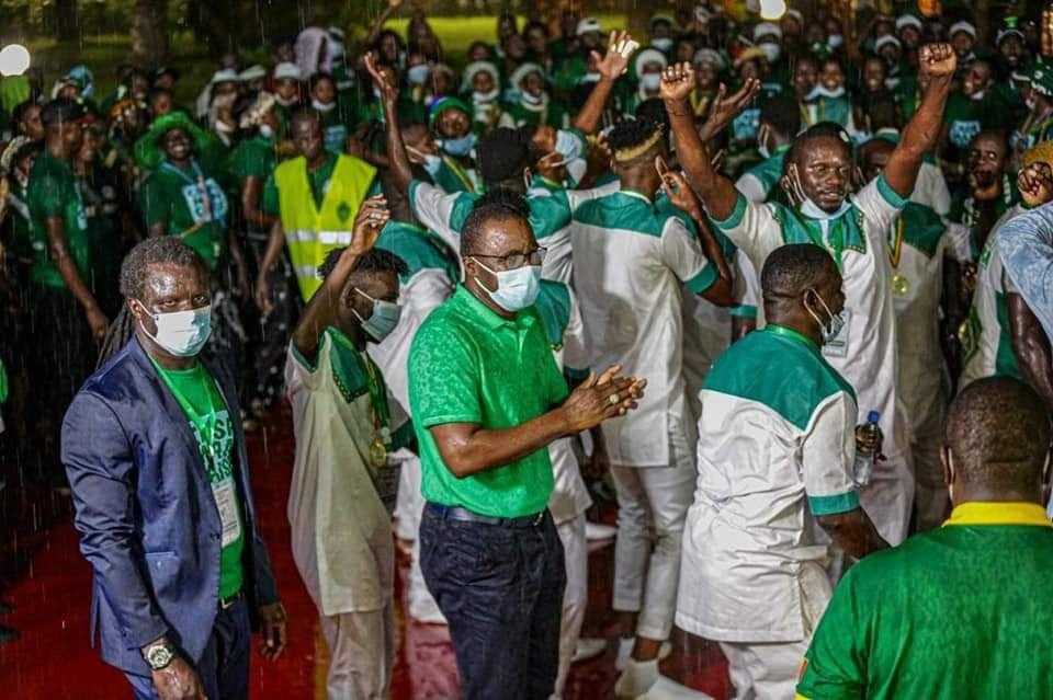 BREAKING  SPORTS NEWS SENEGAL //Casa Sports remporte la Coupe du Sénégal.   Toutes nos  félicitations au Casa Sport qui fait la fierté de toute la Casamance.   Vert, Engagement et Détermination  !!!