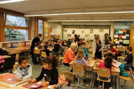 De nouveaux projets intergénérationnels entre l'école Cérésole et l'association VIVA