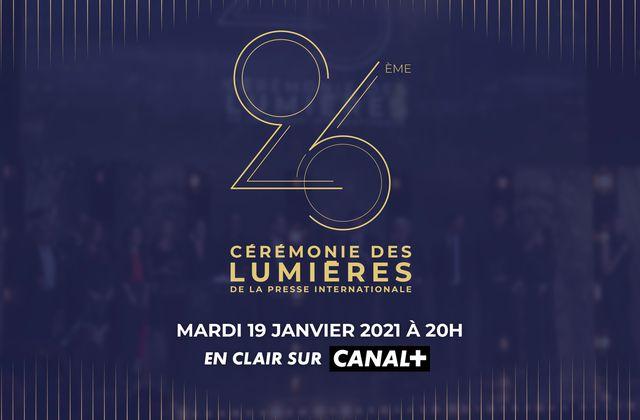 Nominations de la 26e Cérémonie des Lumières : voici la liste complète des nommés.