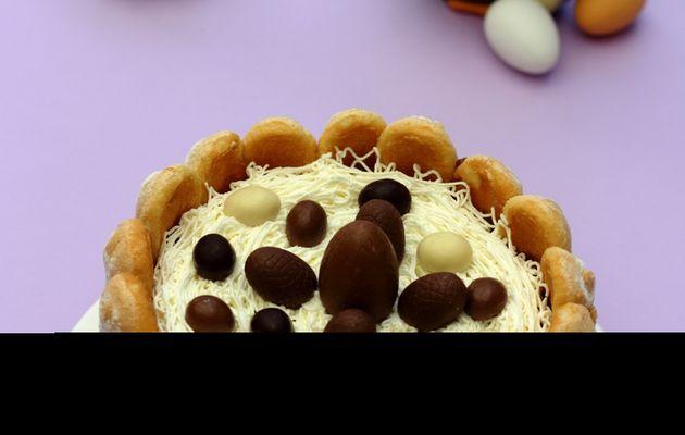 Charlotte au chocolat de Pâques