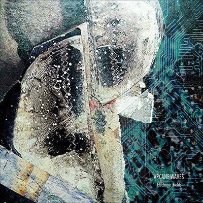"""Envers Endroit -Un collage choisi par JLH Berthelot (ARCANE WAWES) pour illustrer la pochette de son disque """"Electronic Fields"""" .Un clic sur la photo pour écouter ."""