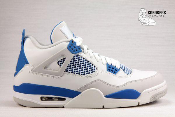 Nike Air Jordan IV Rétro 2012 Military Blue