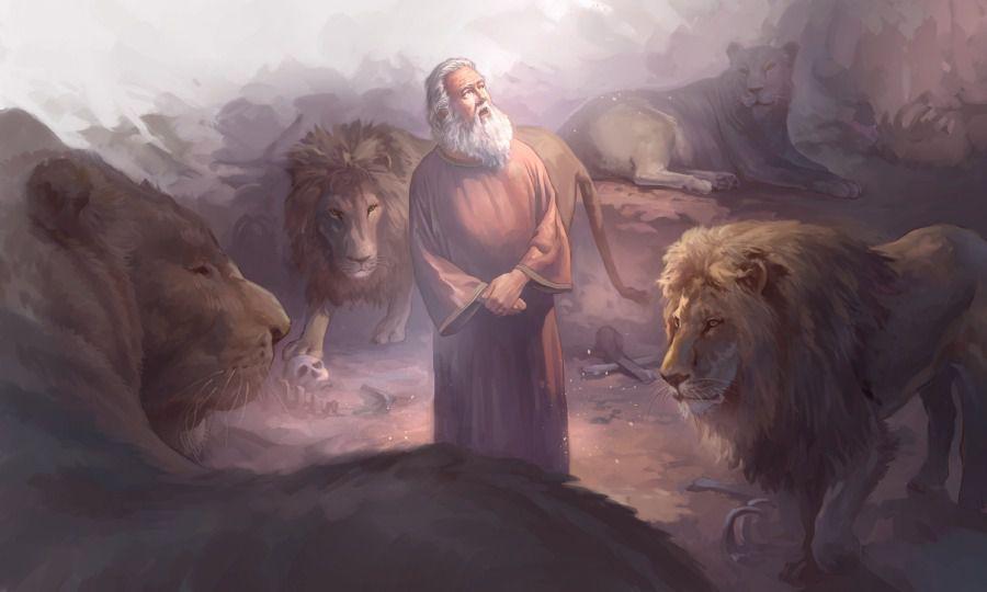Daniel et la fosse aux lions (chapitre 6)