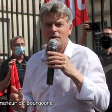 Fabien Roussel au Creusot :  nucléaire et réindustrialisation