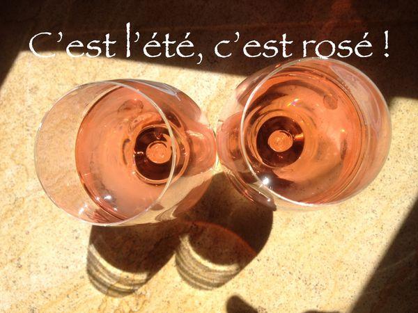 #8) Vl'à l'été, c'est rosé, à petites et grosses lampées...