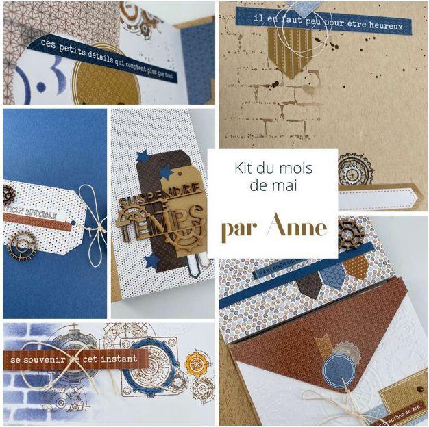 Anne : nouvel album Kit du Mois