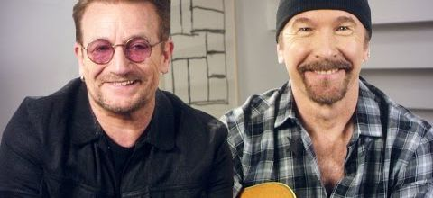 Bono and The Edge Get Stuck in a Moment They Can't Get Out Of // Omaze