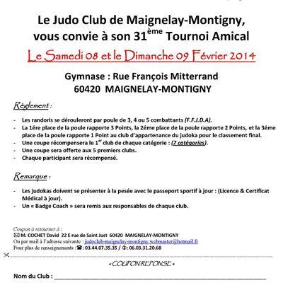 Maignelay-Montigny -31ème Tournoi Amical