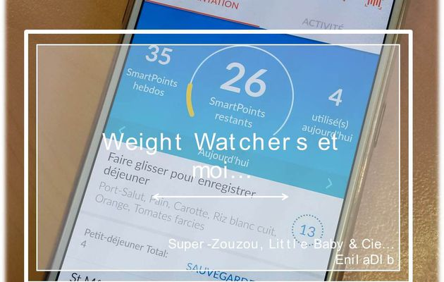 Weight Watchers et moi… #1 : Celle qui avait perdu 6 kg…