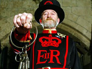 """Yeoman Warders - Photo prise sur le site """"Trooping the colours"""""""