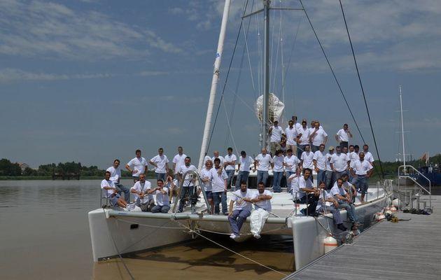 Livraison du dernier catamaran Lagoon 500