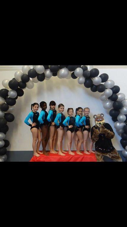 Bonnes performances des gymnastes vénissians - Photos : CMOV gymnastique