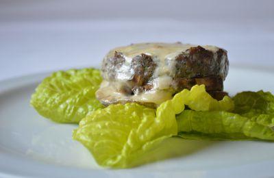 Kufta bi tahina: kebab à la sauce sésame