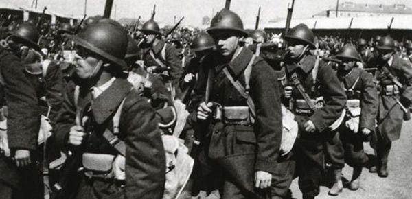 Soldats français en 1940