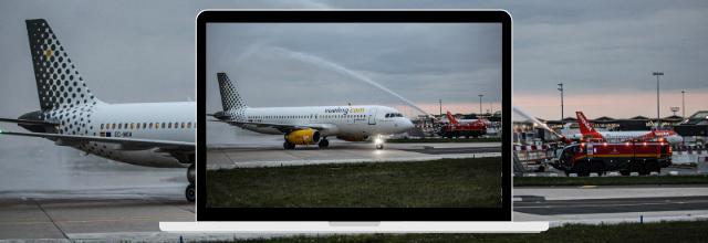 Vueling Airlines célèbre ses premiers vols domestiques en grande pompe
