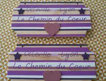 Pancarte Chemin du coeur