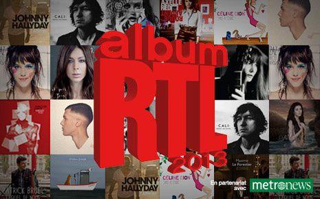 Découvrez les nominés pour l'Album RTL de l'année 2013