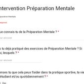 Intervention Préparation Mentale
