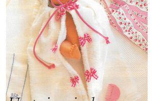 Peignoir pour poupée couture enfant