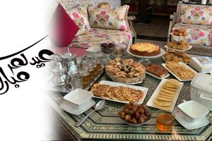 1441مائدة عيد الفطر Table de l'Eid Fitr2020 /Moroccan Eid Fitr Table 2020