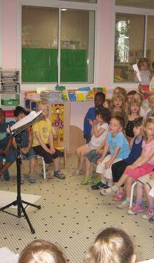 derniers jours d'école en musique !