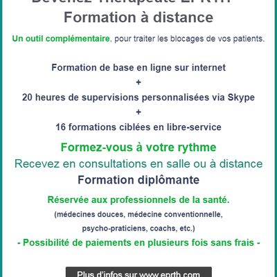Formation EPRTH™ à distance