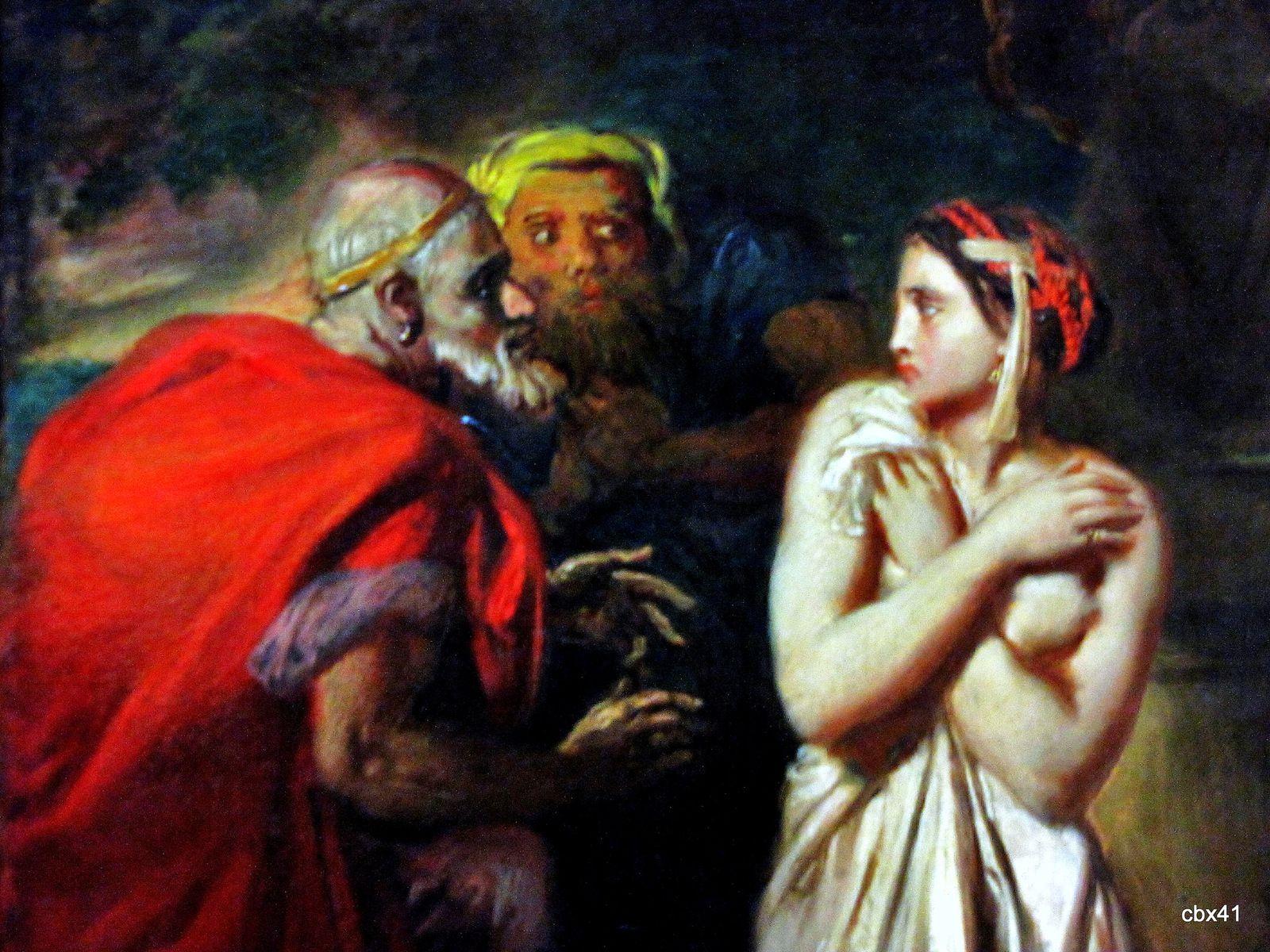 Théodore Chasseriau, Suzanne et les vieillards
