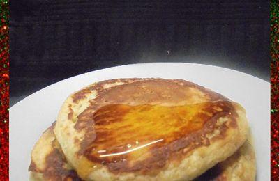 Pancakes à la Banane et Cannelle ...