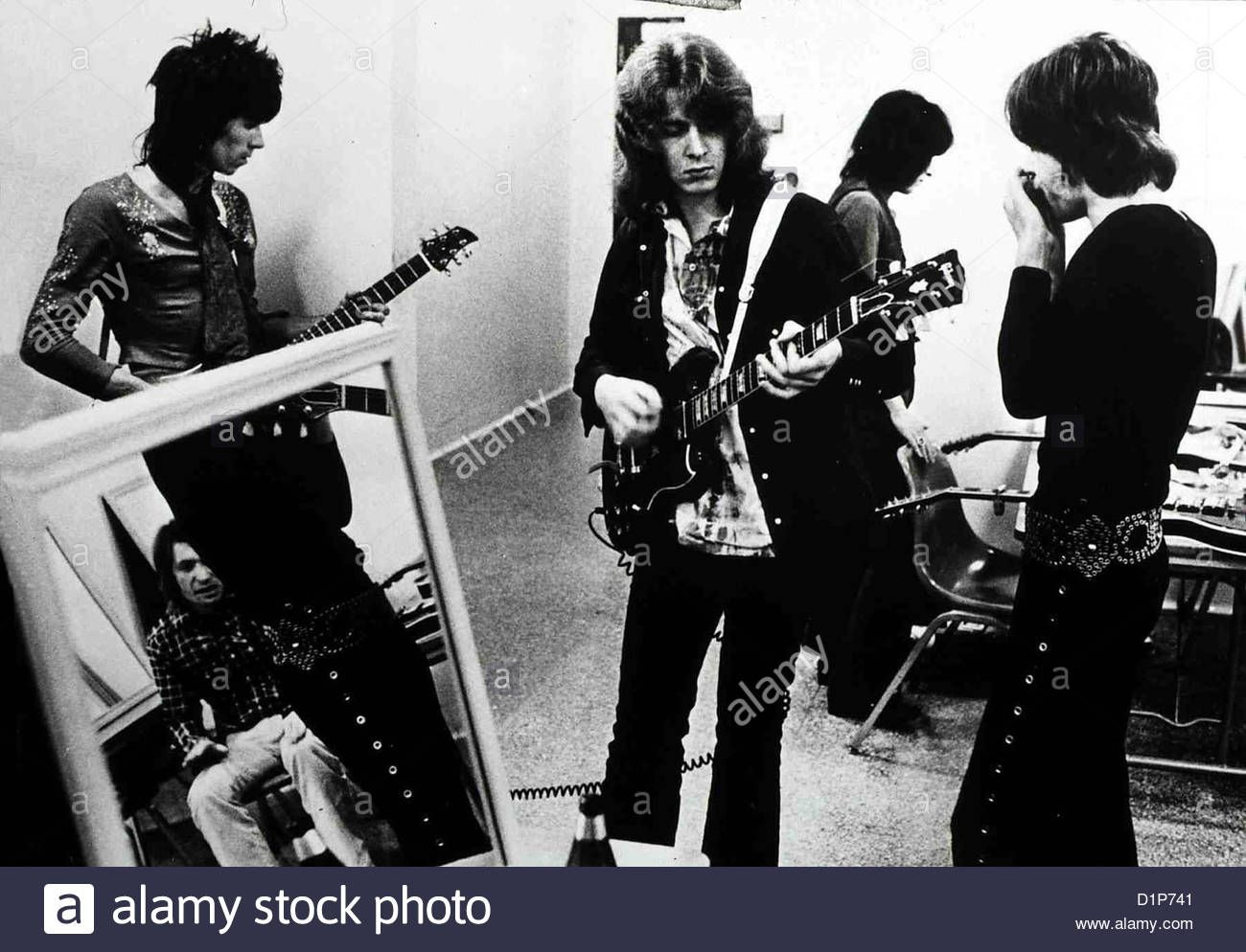 Mick Taylor with Mick and Keith