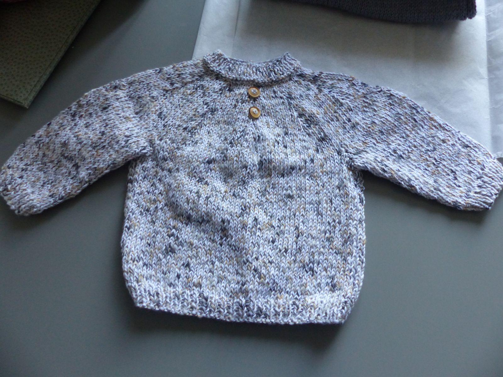 Nouveaux tricots terminés.