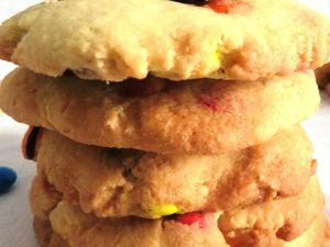 Mes cookies multicolore aux M&M'S
