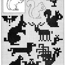 Pixel Art from 1930'