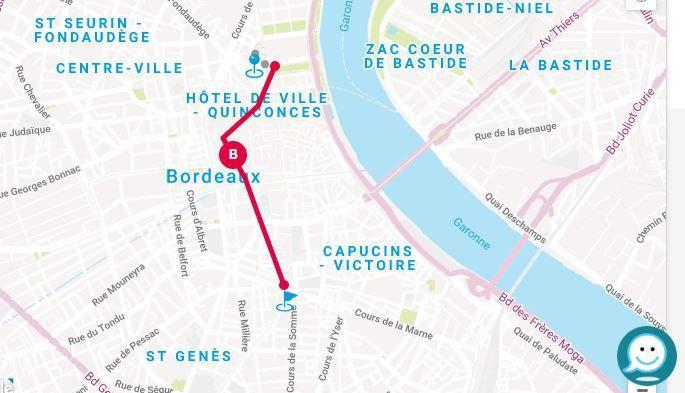 L'école Sainte Anne en visite à Bordeaux