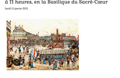 Messe à la mémoire de Louis XVI à Marseille